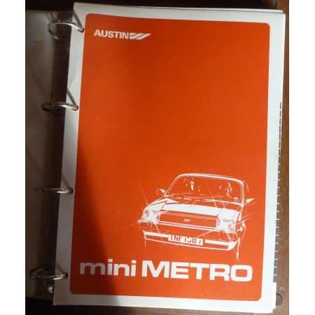 MINI METRO  MR-MINI-METRO - Manuel de réparation