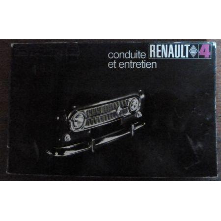 RENAULT R4  ME-REN-R4 - Manuel Entretien