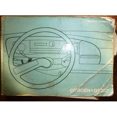 CITROEN GS 1973  MU-CIT-GS-73 - Juillet 1973
