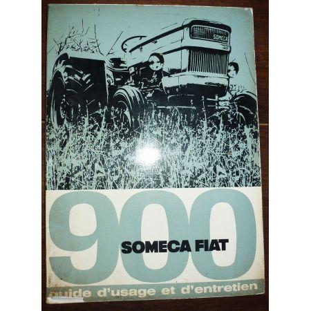 FIAT SOMECA 900  Manuel d'entretien  ME-SOMECA-900
