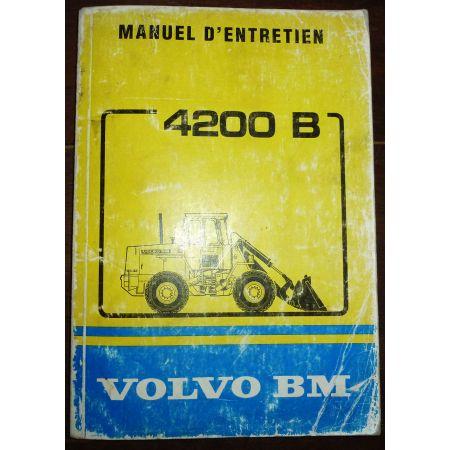VOLVO BM 4200B  Manuel Entretien  ME-VOLV-4200B