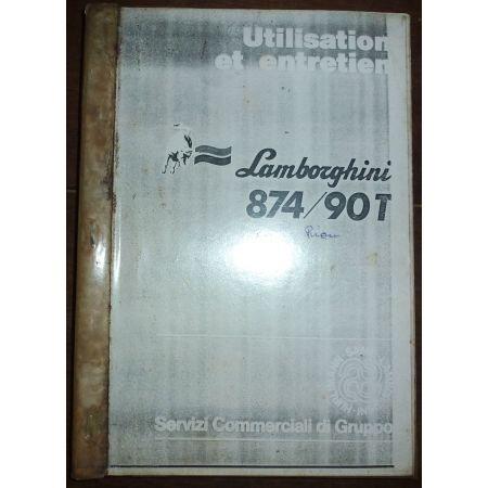 LAMBORGHINI 874-90T  Manuel Entretien  ME-LAMB-874-90T