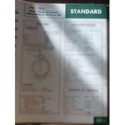 STANDARD 23C  MASSEY-FERGUSON 835DS et 802  Ref : FT-STA-127-3