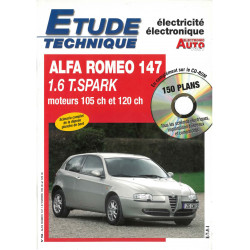 ALFA-ROMEO 147 1.6 Twin-Spark  105cv et 120cv  EAV0793 - Janvier 2002