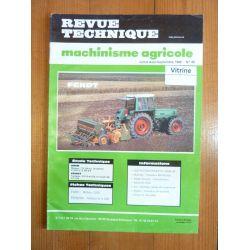310 311 312 Revue Technique Agricole Fendt