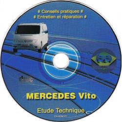 MERCEDES-BENZ Vito de 04/1996 à 2003  CD-LEA0421 - Revue Technique L expert automobile CD-ROM