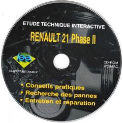 RENAULT R21 Phase II  Tous types sauf turbo Essence et 4x4  CD-LEA-R21 -Revue Technique L expert automobile CD-ROM