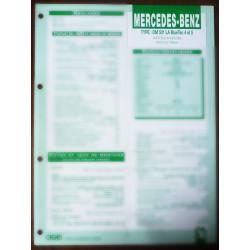 MERCEDES-BENZ Actros New  Type : OM 501 LA BlueTec 4 et 5  Ref : FT-MER-74