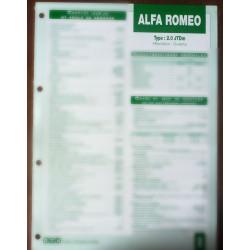 ALFA ROMEO Giulietta 2.0 JTDm  Ref : FT-ALF-8
