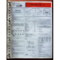 AX 10 Fiche Technique Citroen