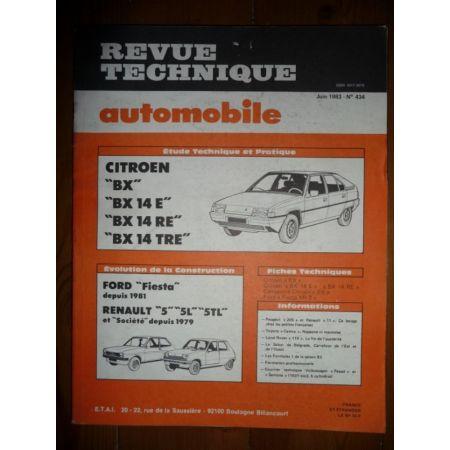 BX 14 Revue Technique Citroen