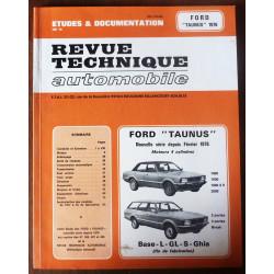 FORD TAUNUS Depuis 2/1976 4 Cylindres 1300-1600-2000  RRTA0366.3 - Réédition
