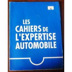 Cahier de l'expertise automobile n°3  AE-CAHIER3 - Fiches de reglages divers