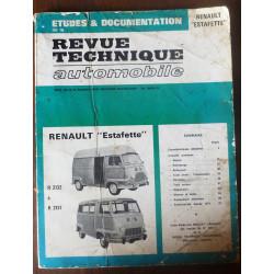 RENAULT ESTAFETTE R2132 à R2137  RRTA0302.0 - réédition
