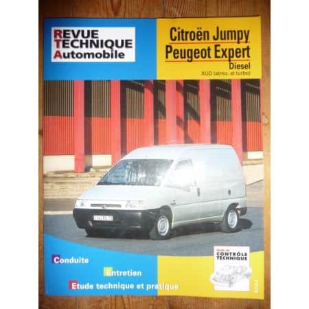 Jumpy Expert Scudo Revue Technique Citroen Peugeot