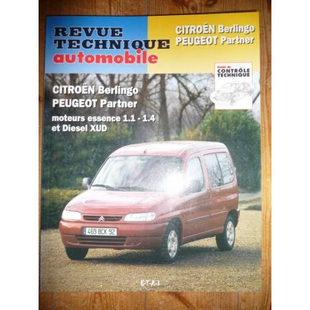 Berlingo Partner Revue Technique Citroen Peugeot