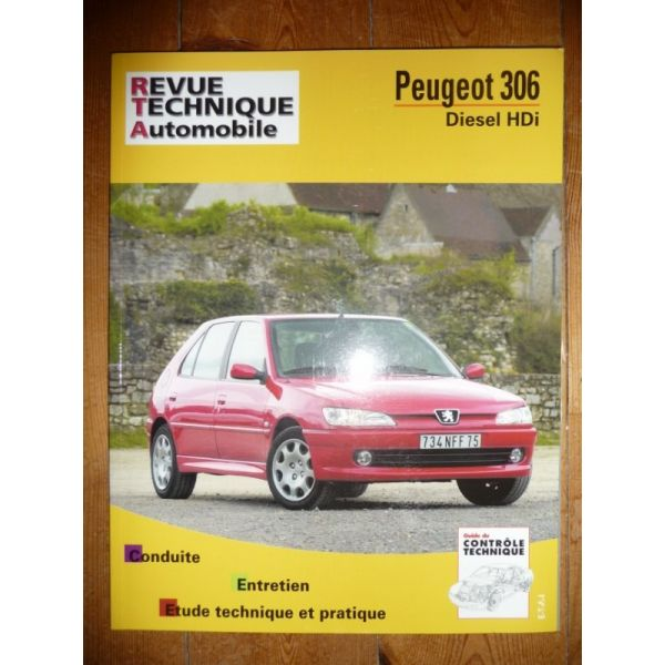 rta revue technique peugeot 306 diesel hdi. Black Bedroom Furniture Sets. Home Design Ideas