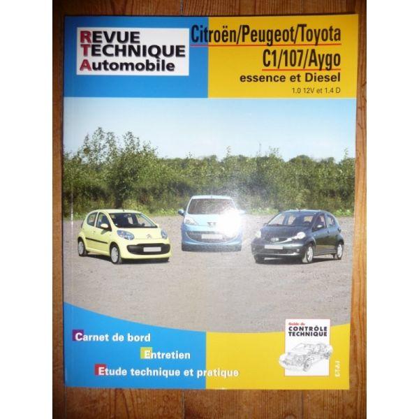 C1 107 AYGO Revue Technique Citroen Peugeot Toyota