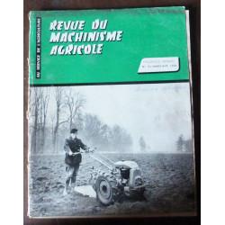 MASSEY - FERGUSON TE  RTMA0003 - Mars/Avril 1958 - Revue Technique Machinisme et Tracteur Agricole