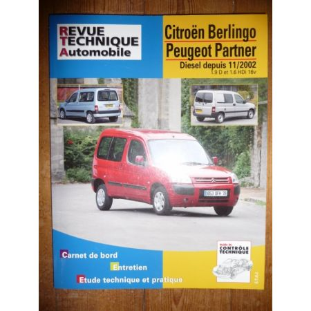 Berlingo Partner 02- Revue Technique Citroen Peugeot