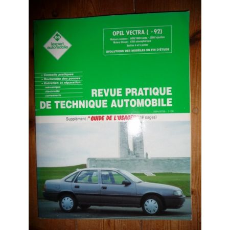 Vectra -92 Revue Technique Opel