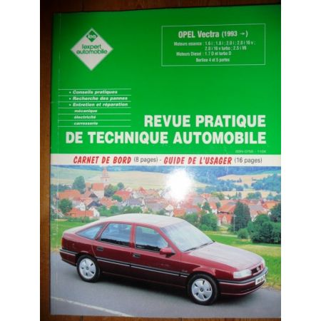 Vectra 93- Revue Technique Opel