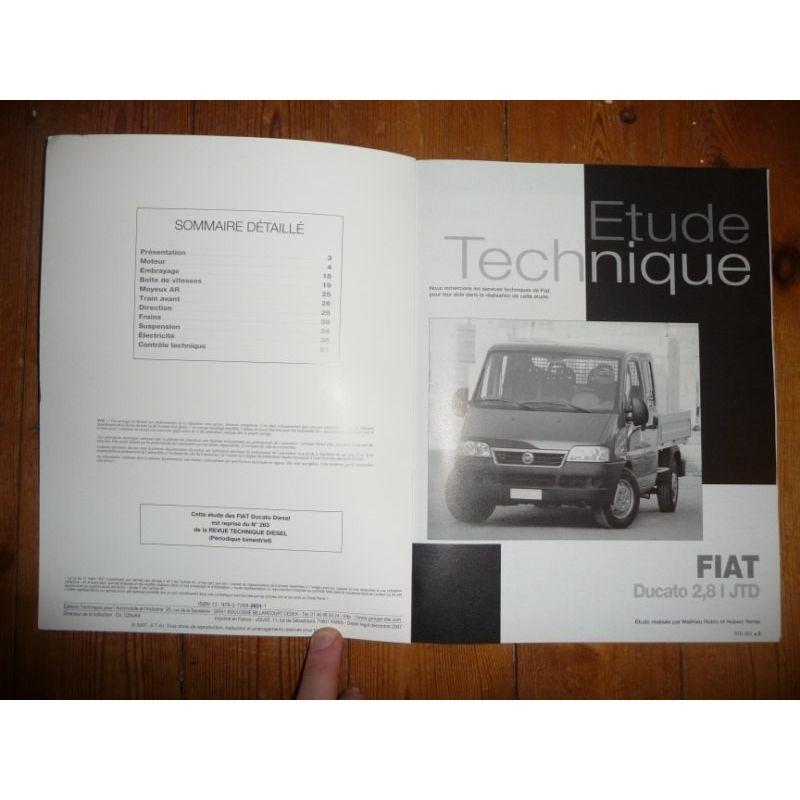 rta revue technique utilitaire fiat ducato diesel jtd. Black Bedroom Furniture Sets. Home Design Ideas