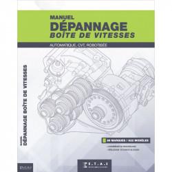 Dépannage boite de vitesses - Tome 2  MA-AUTODIDACT-VIT2 - Manuels AUTODIDACT