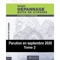 Dépannage boite de vitesses - Tome 2 - 2020  MA-AUTODIDACT-VIT-2020 - Manuels AUTODIDACT