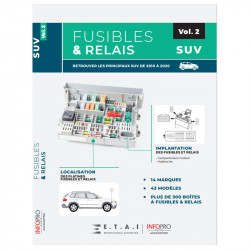 FUSIBLES ET RELAIS - SUV - VOLUME 2  MA-AUTODIDACT-SUV2 - Manuels AUTODIDACT