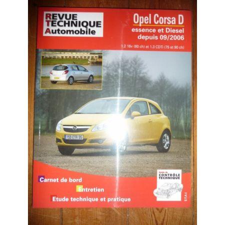 Corsa D 06- Revue Technique Opel