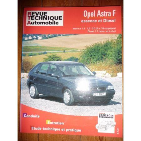 Astra F Revue Technique Opel