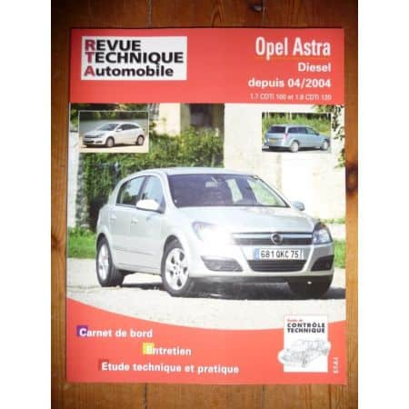 Astra Die 04- Revue Technique Opel