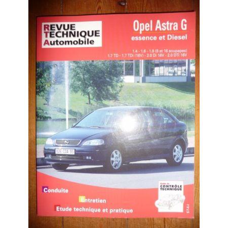 Astra G 98- Revue Technique Opel