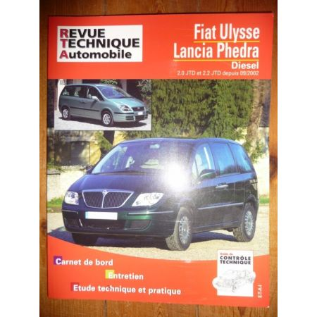 Ulysse Phedra 02- Revue Technique Fiat Lancia