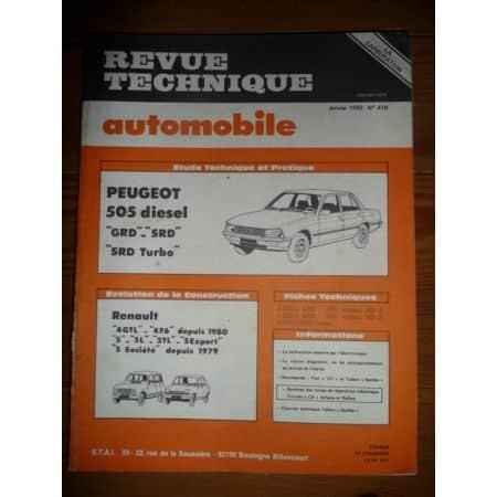 505 Die Revue Technique Peugeot