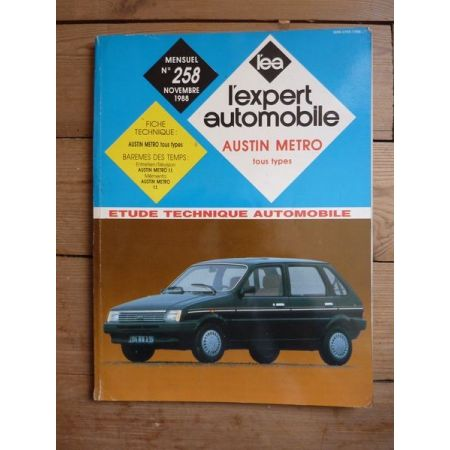 METRO Revue Technique Austin Mini Mg British Leyland