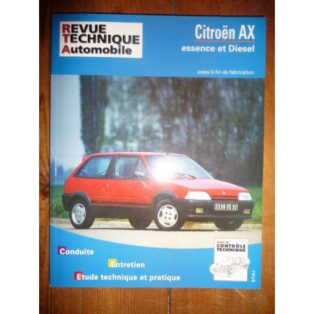 AX Revue Technique Citroen