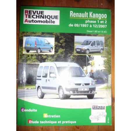 Kangoo I II 97-07 Revue Technique Renault