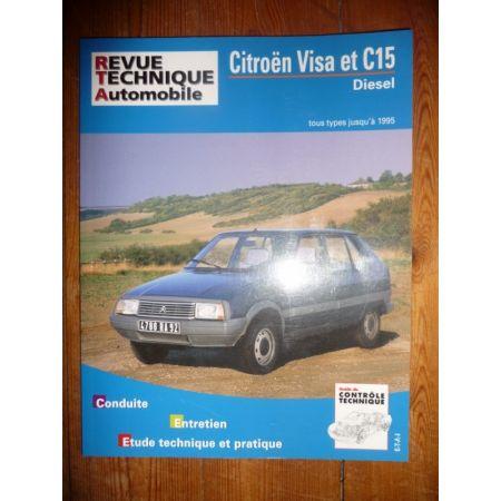 Visa C15 Die Revue Technique Citroen