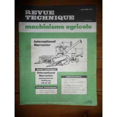 531 541 Revue Technique Agricole IH