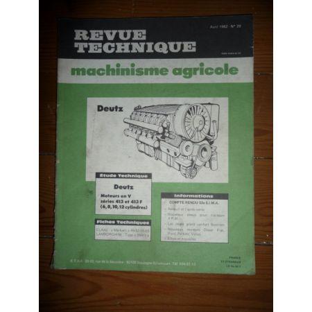 413 413F Revue Technique Agricole Deutz
