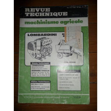 Groupe 5 - RC90 à 151 Revue Technique Industriel Lombardini
