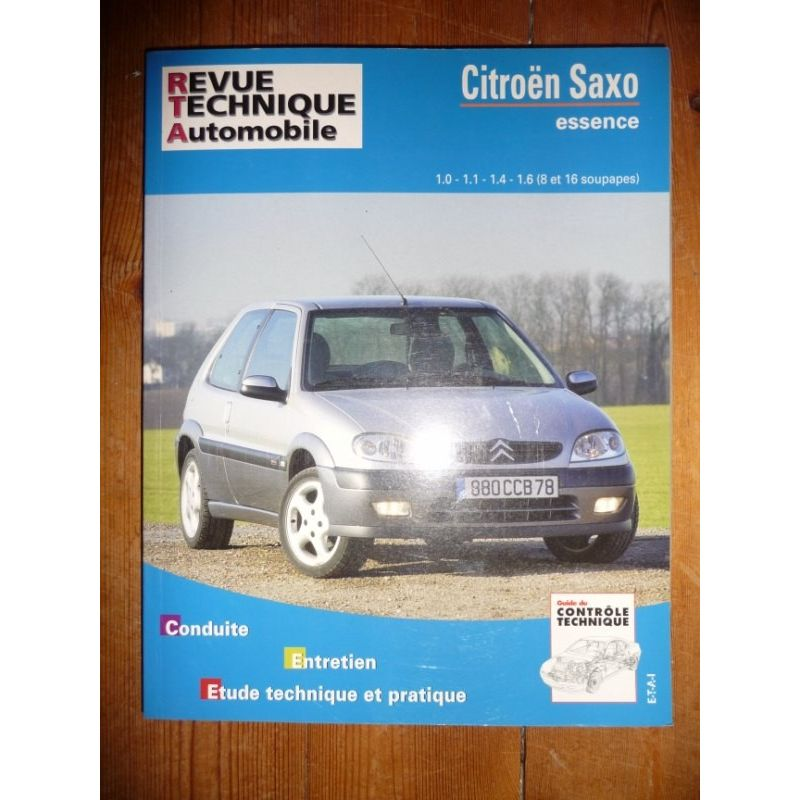 rta revues technique automobile citroen saxo essence
