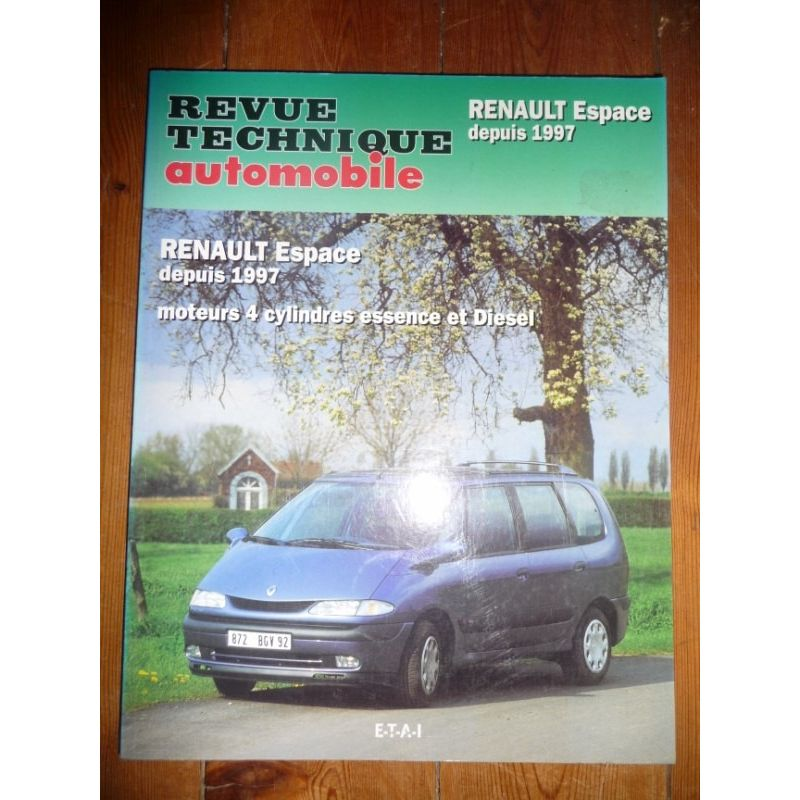 rta revues technique automobile renault espace depuis 1997 moteurs 4 cylindres essence et diesel. Black Bedroom Furniture Sets. Home Design Ideas