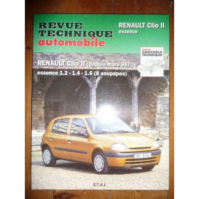 rta revues technique automobile renault clio ii essence. Black Bedroom Furniture Sets. Home Design Ideas