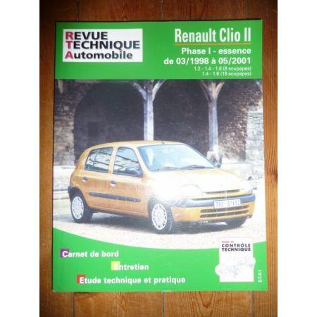 Clio II 98-01 Revue Technique Renault