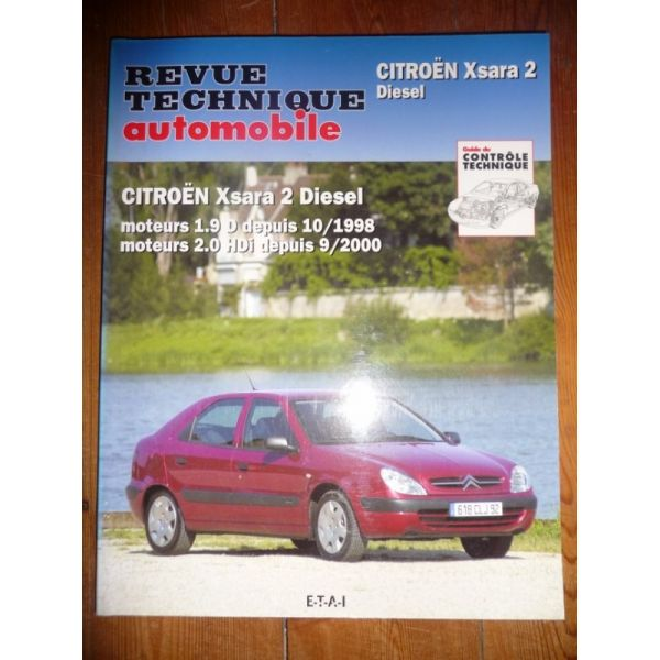 rta revues technique automobile citroen xsara 2 diesel. Black Bedroom Furniture Sets. Home Design Ideas