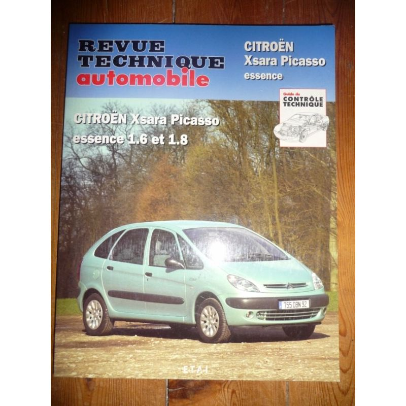 rta revues technique automobile citroen xsara picasso. Black Bedroom Furniture Sets. Home Design Ideas