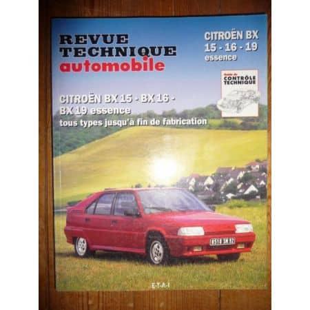 BX 15 16 19 Ess Revue Technique Citroen